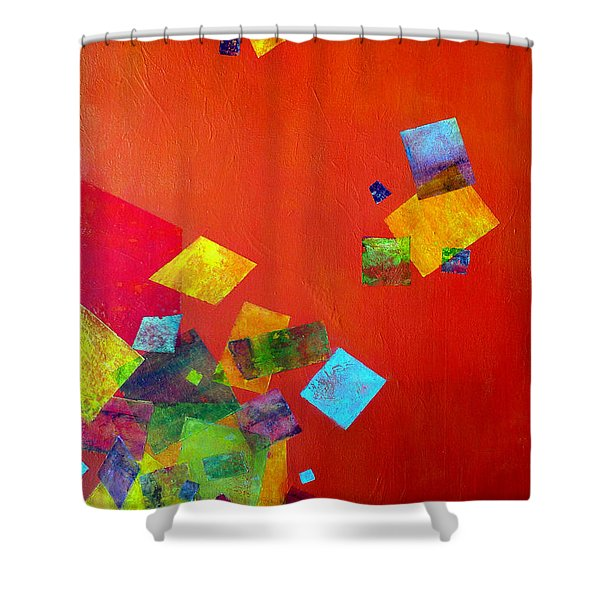 Gravity Is Only A Theory Shower Curtain