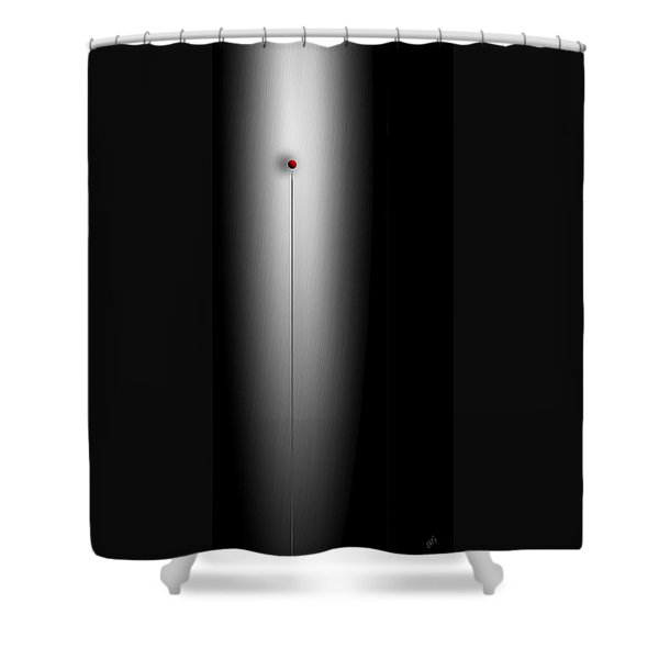 Gravity Rules II Shower Curtain
