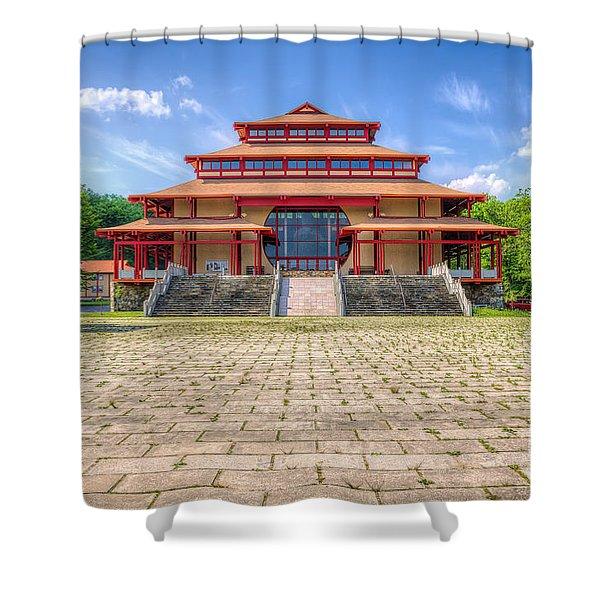 Great Buddha Hall Shower Curtain