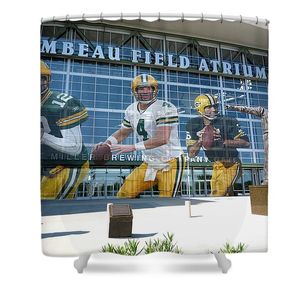 Green Bay Packers Lambeau Field Shower Curtain