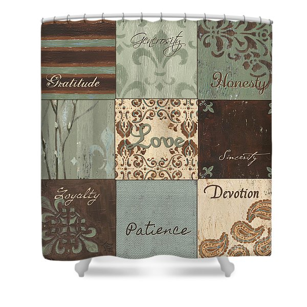 Green Brown Wtlb 1 Shower Curtain