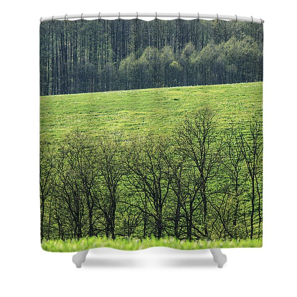 Green Peace Shower Curtain