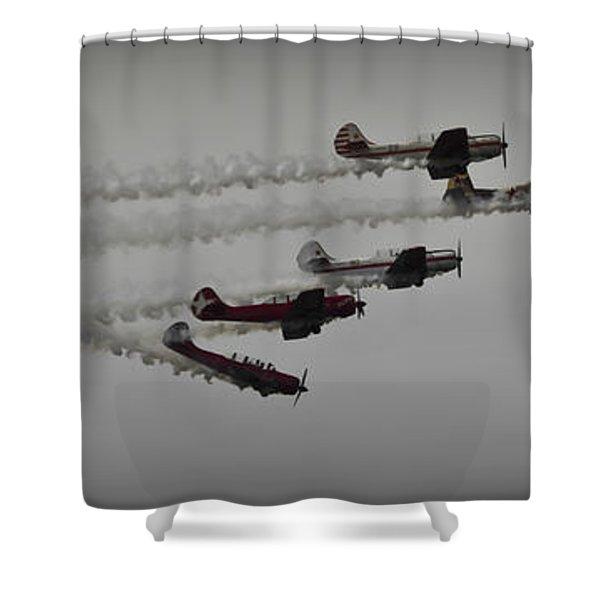 Greenwood Lake Airshow Northeast Raiders Shower Curtain