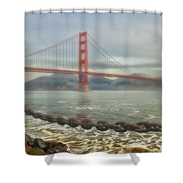 Greetings From San Franciosco Shower Curtain