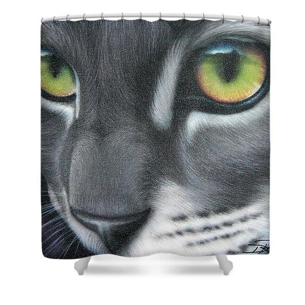 Grey Lady Shower Curtain