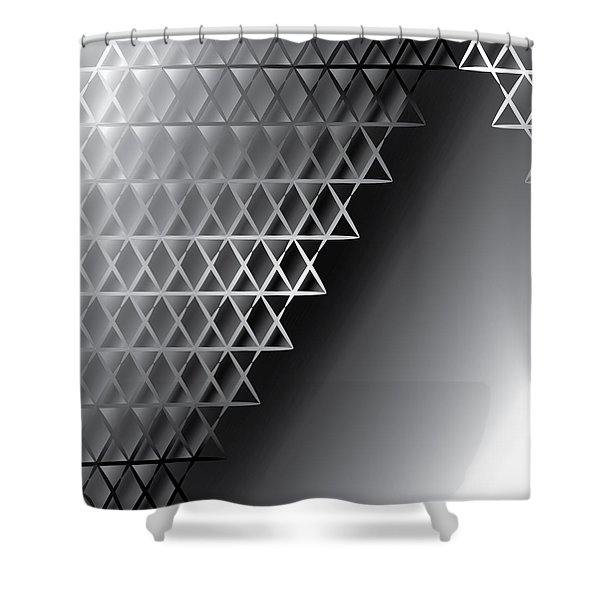 Grid 60 Float Shower Curtain