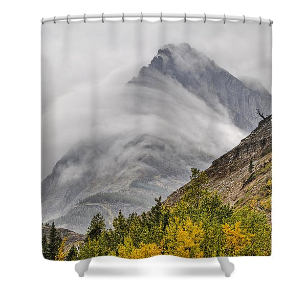 Grinnell Cloud Wrap Shower Curtain
