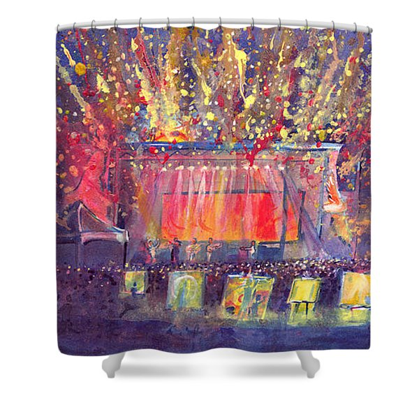 Groundation At Arise Music Festival Shower Curtain