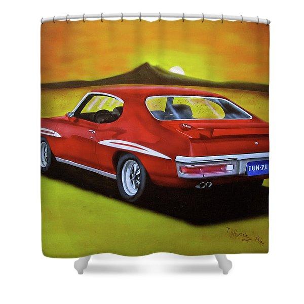 Gto 1971 Shower Curtain