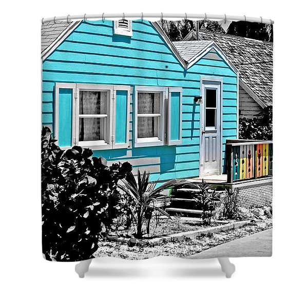 Real Guana Cay Shower Curtain