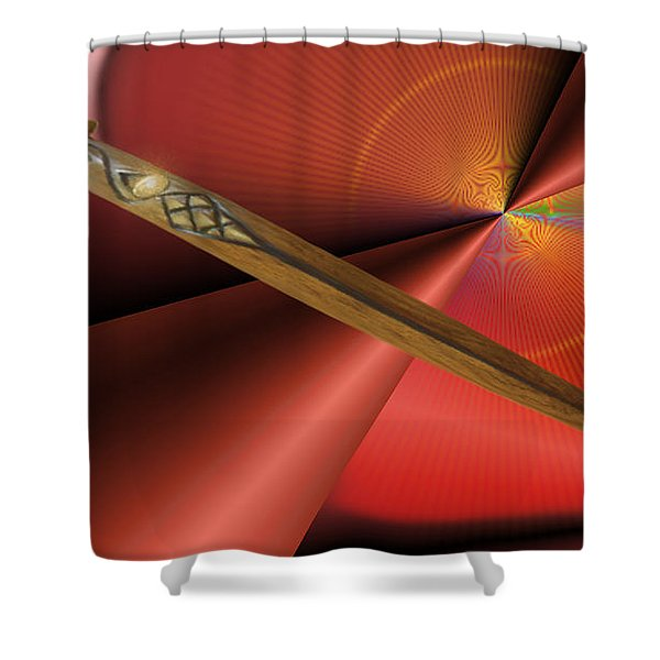 Guarded Heart Shower Curtain