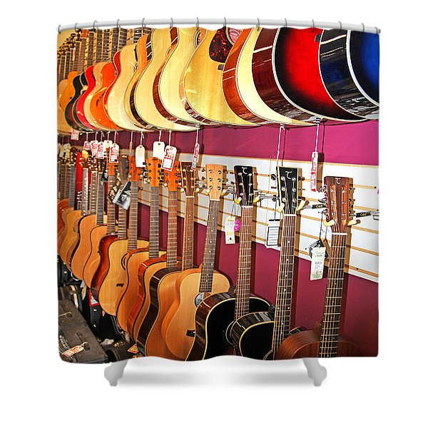 Guitars For Sale Shower Curtain