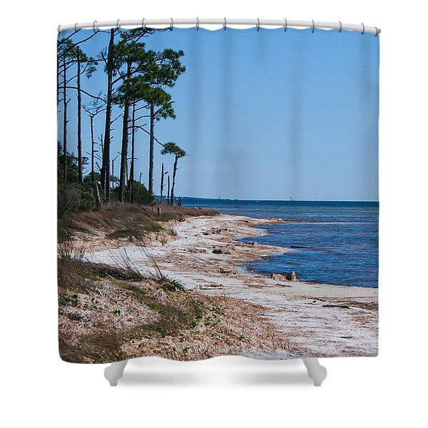 Gulf Island National Seashore 2 Shower Curtain