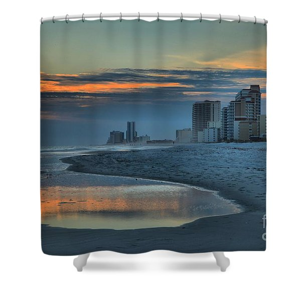 Gulf State Park Sunset Shower Curtain