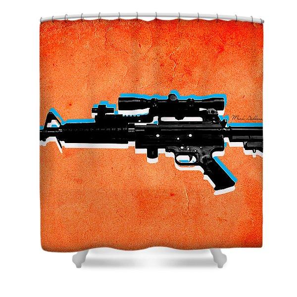 Gun 2 Shower Curtain