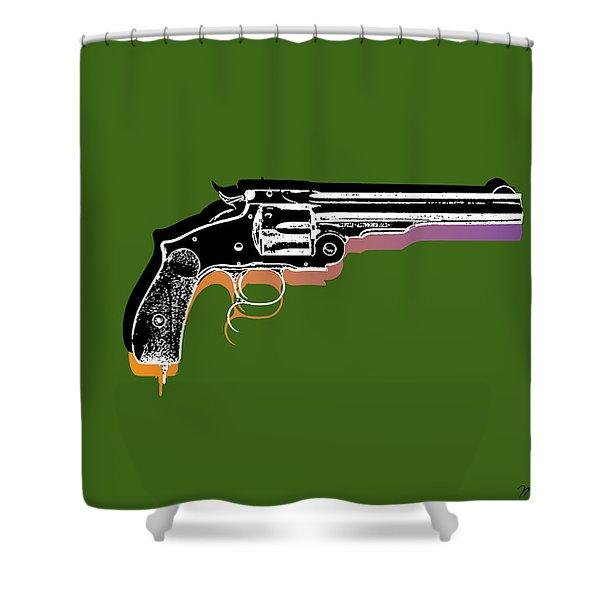 Gun 3 Shower Curtain