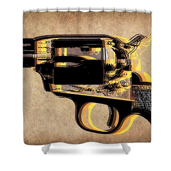 Gun 4 Shower Curtain