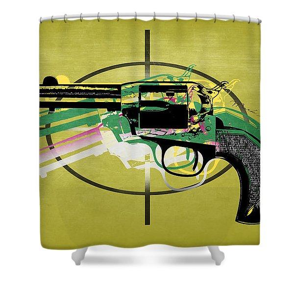 Gun 5 Shower Curtain