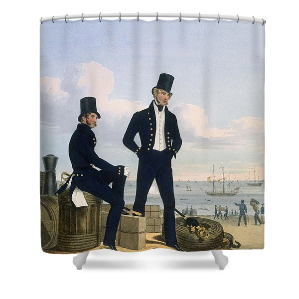 Gunners, Boatswains And Carpenters Shower Curtain