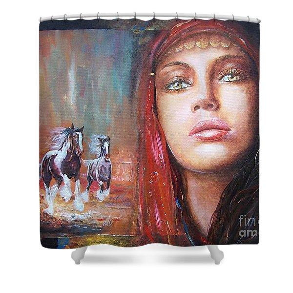 Gypsy Beauty Shower Curtain
