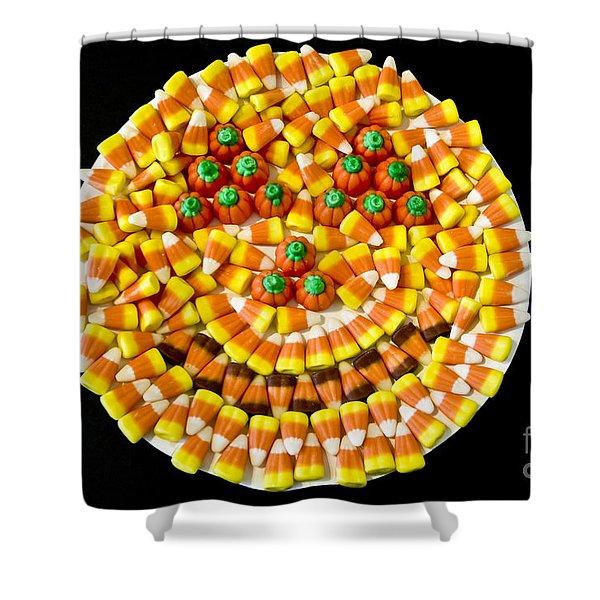 Halloween Candy Shower Curtain