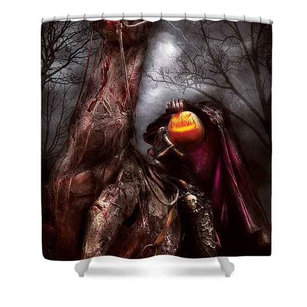 Halloween - The Headless Horseman Shower Curtain