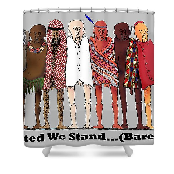 Nous Sommes Charlie Shower Curtain