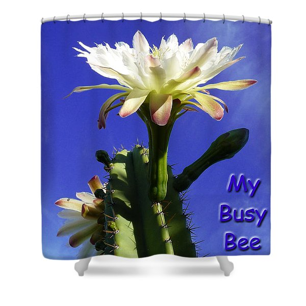 Happy Birthday Card And Print 13 Shower Curtain
