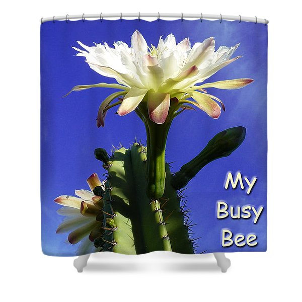 Happy Birthday Card And Print 14 Shower Curtain