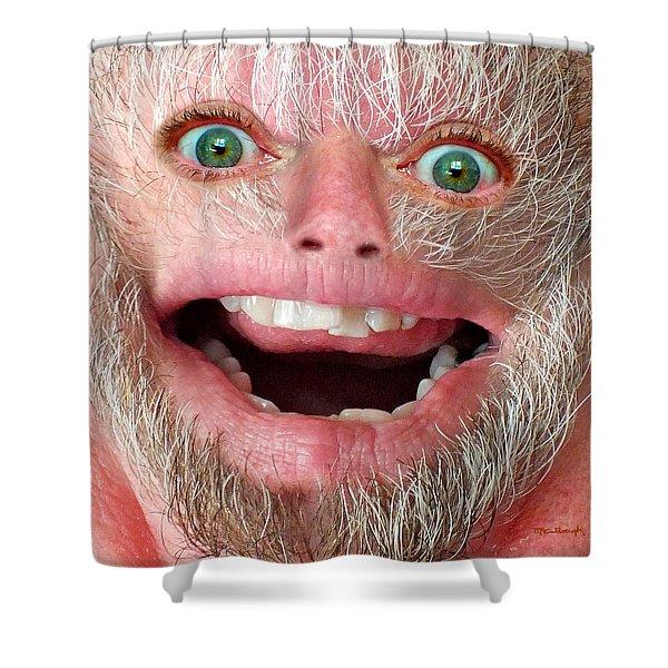 Happy Harry Shower Curtain