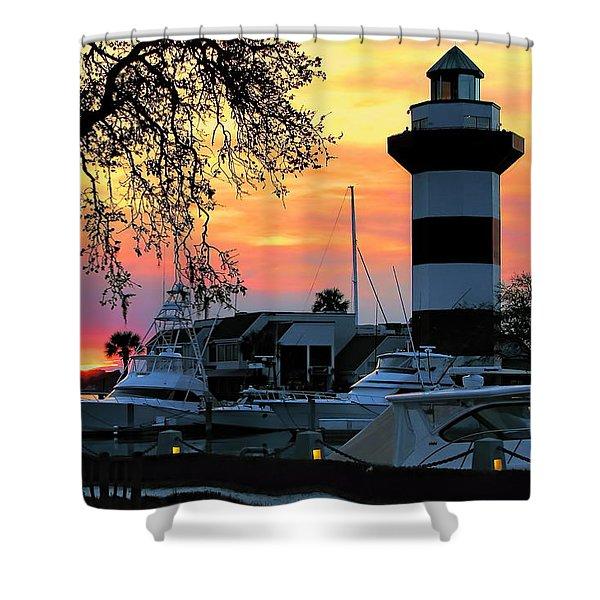 Harbour Town Sundown Shower Curtain