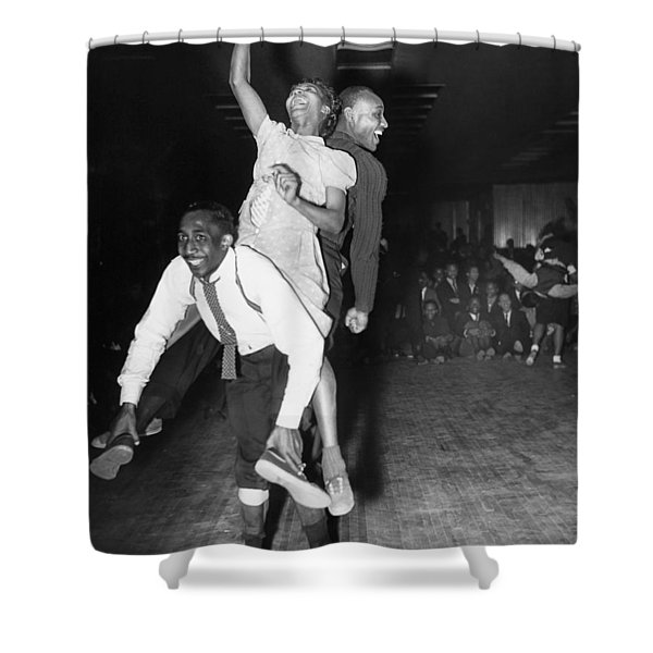 Harlem: Dancers, 1941 Shower Curtain