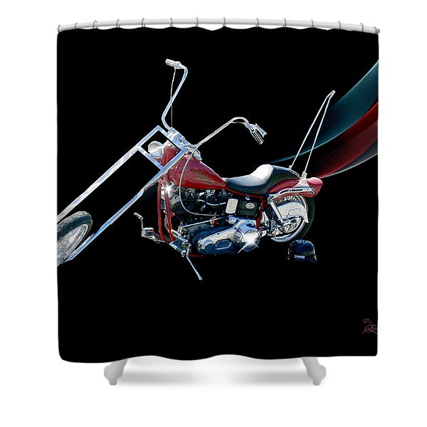 Harley Shower Curtain
