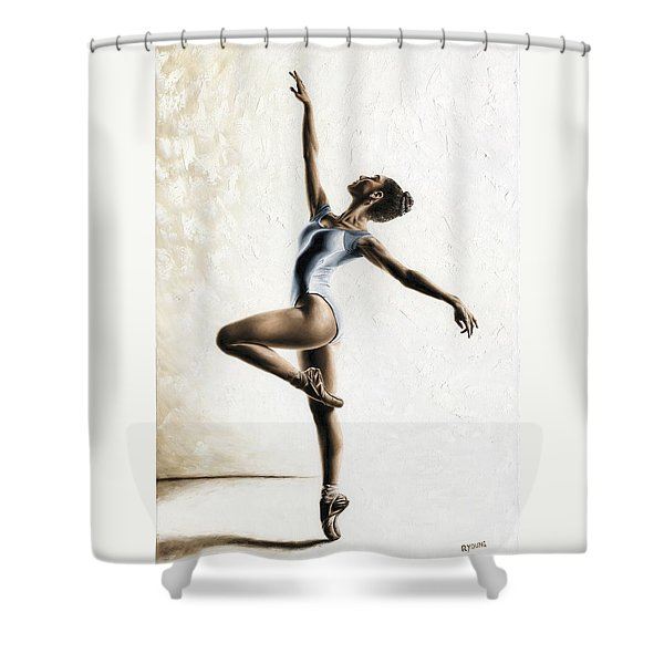 Harmony And Light Shower Curtain
