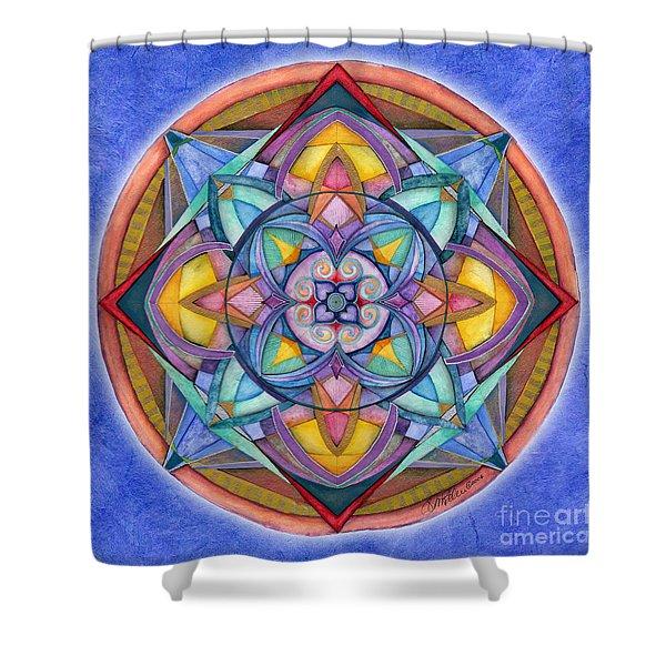 Harmony Mandala Shower Curtain