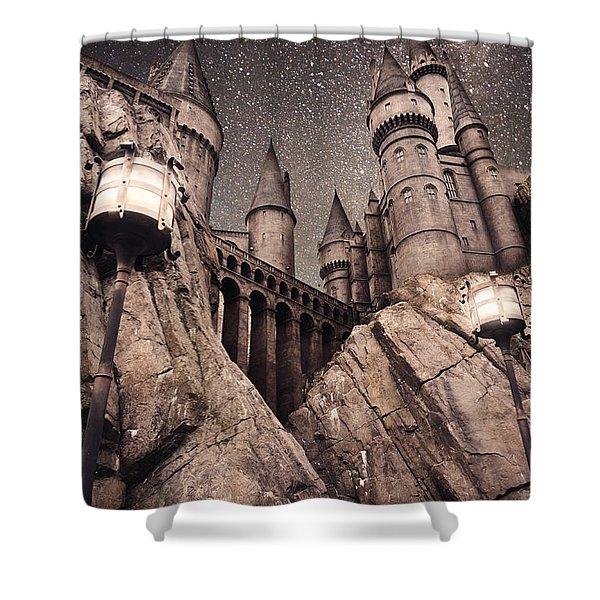 Hogwarts Castle Harry Potter Shower Curtain