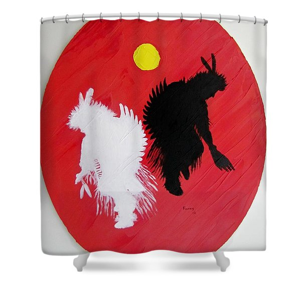 Harvest Dance Shower Curtain