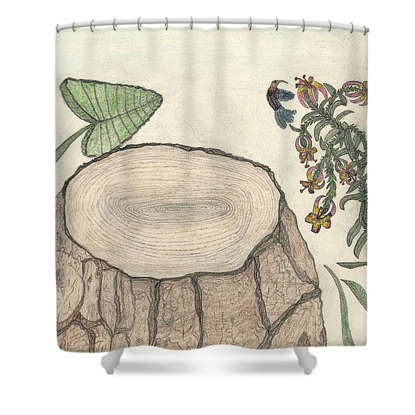 Harvested Beauty Shower Curtain