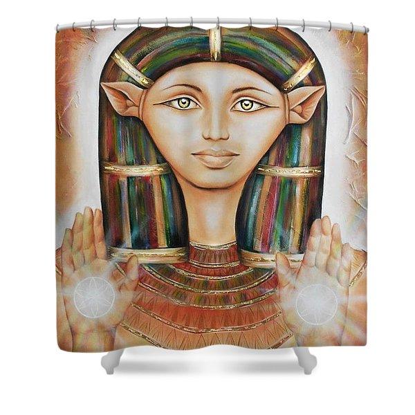 Hathor Rendition Shower Curtain