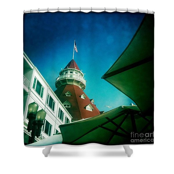 Haunted Hotel Del Shower Curtain