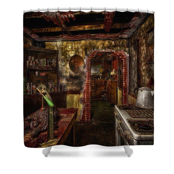 Haunted Kitchen Shower Curtain