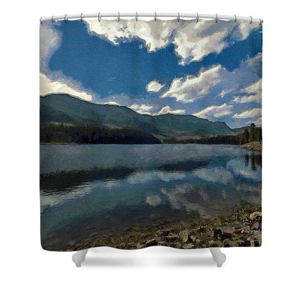 Haviland Lake Shower Curtain