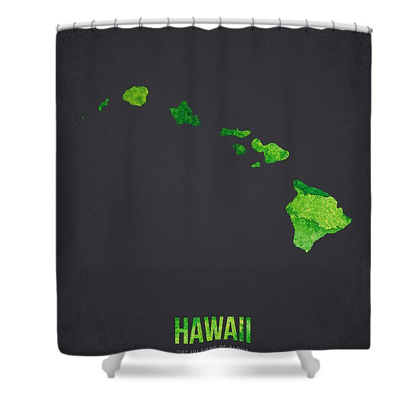 Hawaii The Islands Of Aloha Shower Curtain
