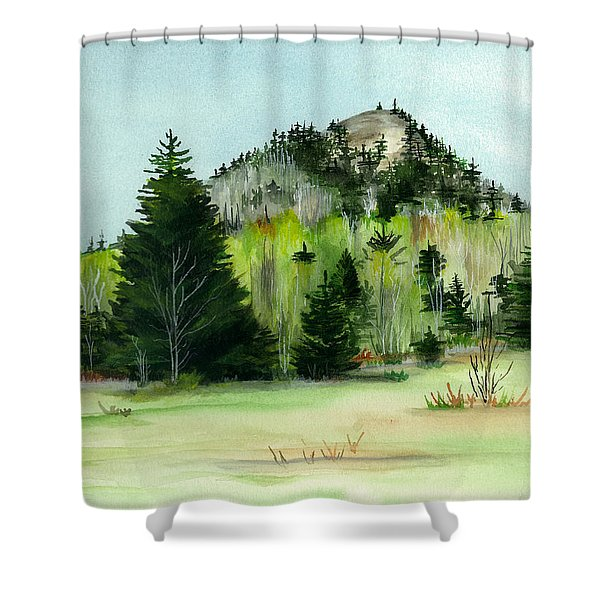 Haystack Mountain Castle Hill Me Shower Curtain