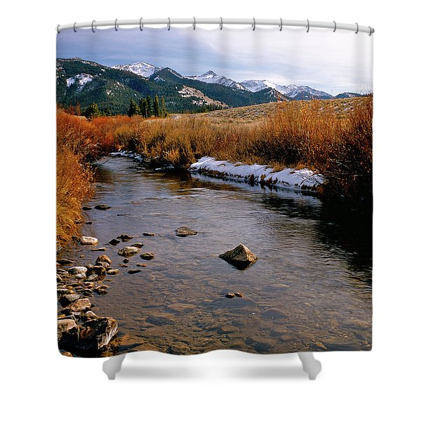 Headwaters Of The River Of No Return Shower Curtain