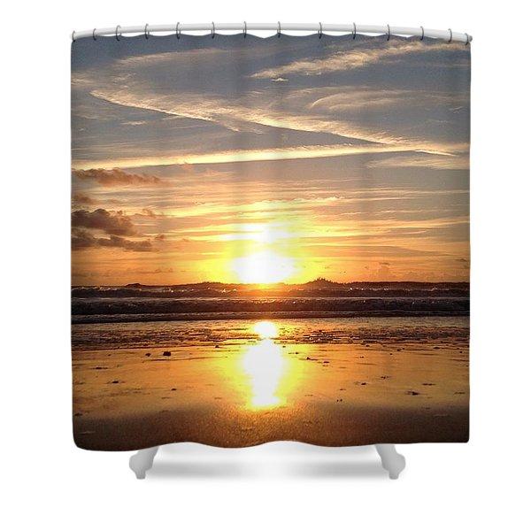 Healing Angel Shower Curtain