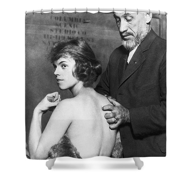 Healing For Ziegfeld Dancer Shower Curtain
