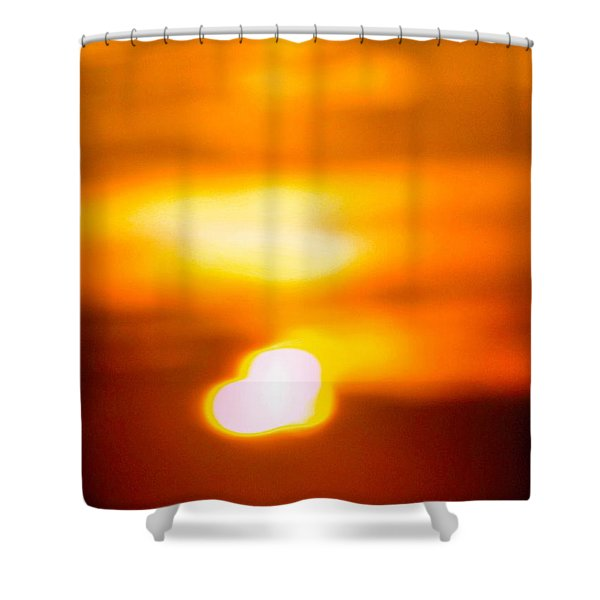 Heart Of The Day Shower Curtain