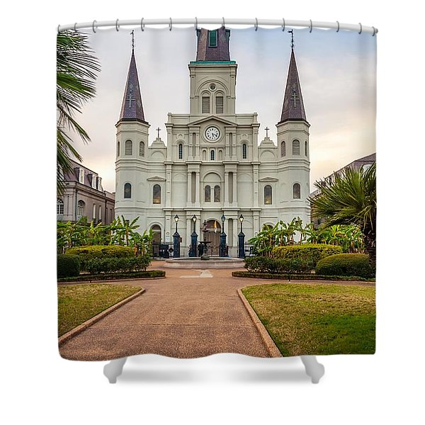 Heart Of The French Quarter Shower Curtain
