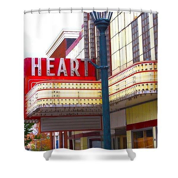 Heart Theatre Effingham Illinois  Shower Curtain